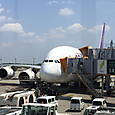 A380 駐機中