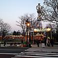 札幌テレビ塔とクリスマスマーケット